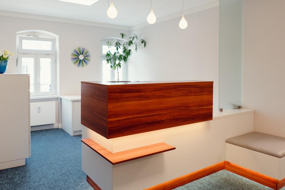 Zahnarztpaxis Dr. Vetter Dresden Löbtau Empfang