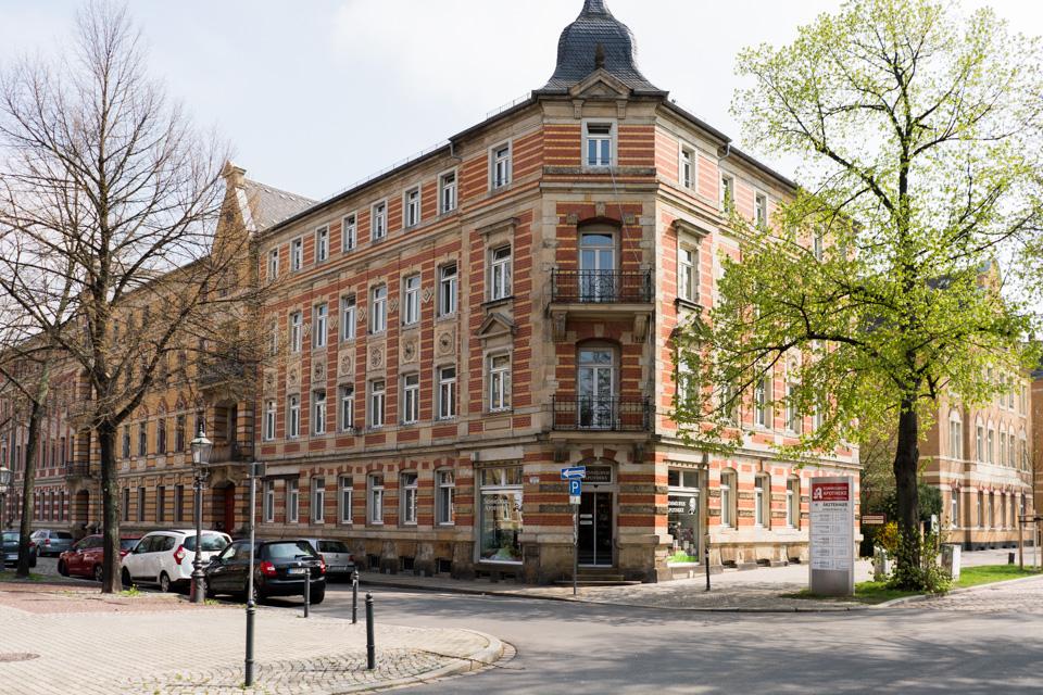 Zahnarztpaxis Dr. Vetter Dresden Löbtau Außenansicht